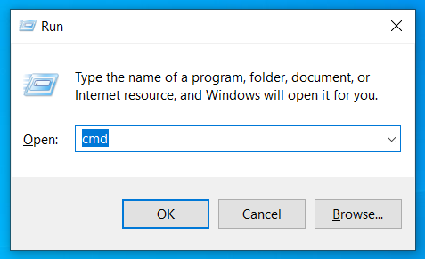 How to unblock sites without using VPN (Virtual Private Network) - pressing Windows + R