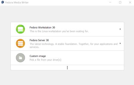 How to create a Fedora live USB drive