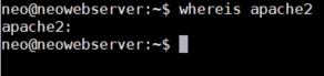 How to uninstall Apache2 on Linux -whereis Apache2