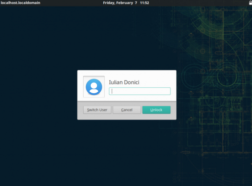 How to install openSUSE Tumbleweed - Xfce desktop: locked screen