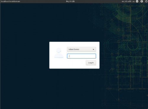 How to install openSUSE Tumbleweed - Xfce desktop: logging in
