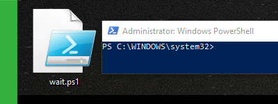 """How to add a """"wait"""" time to your PowerShell script"""