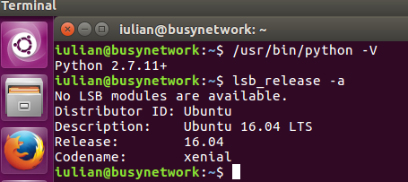 How to check Python version on Linux - Ubuntu 16.04 LTS desktop