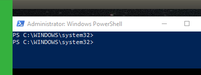 How to stop a Windows application using PowerShell